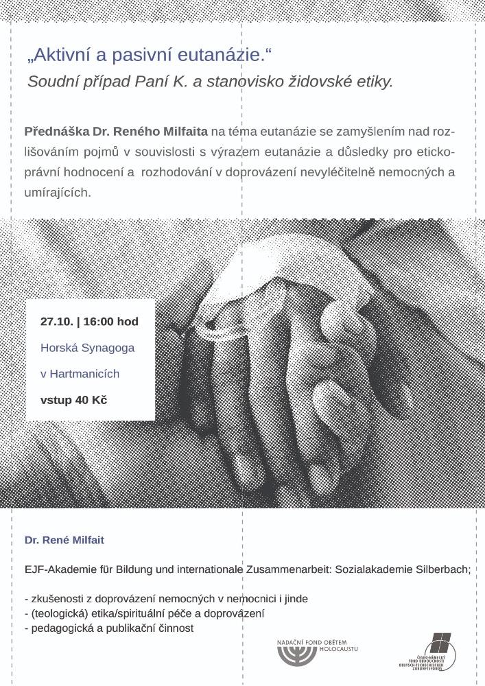 prednaska eutanazie