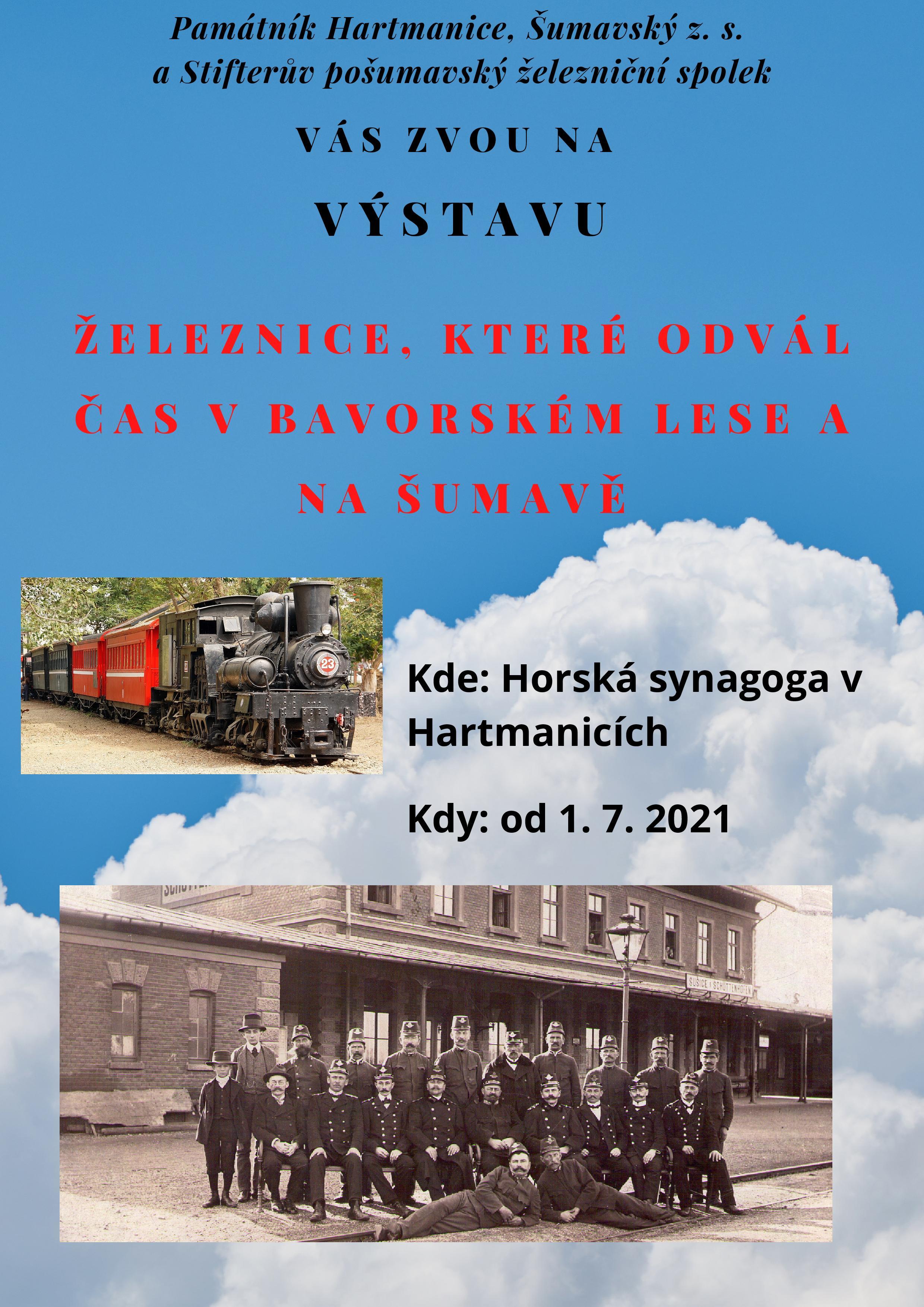 Železnice, které odvál čas v Bavorském lese a na Šumavě