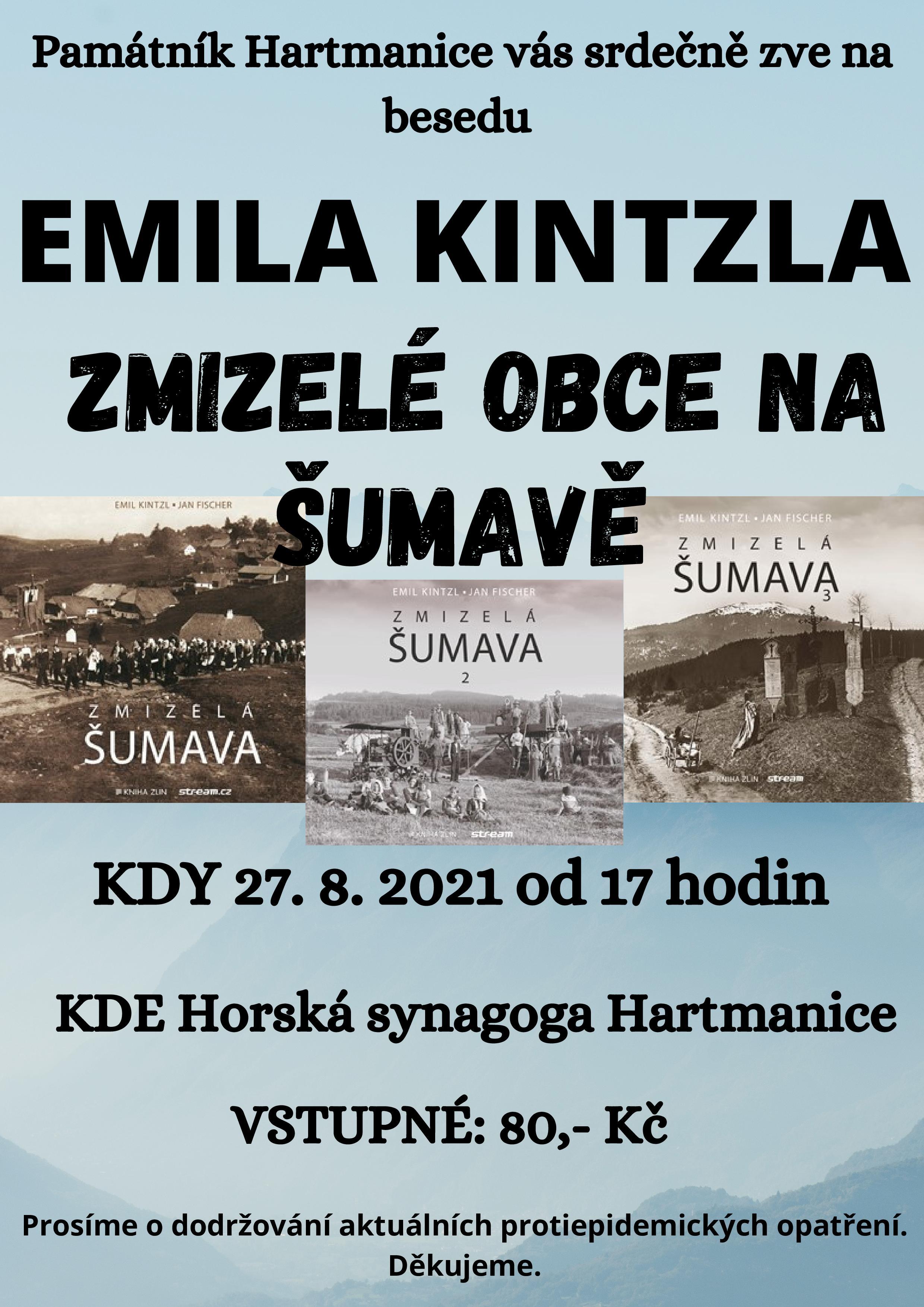 Emil Kintzl beseda 2021
