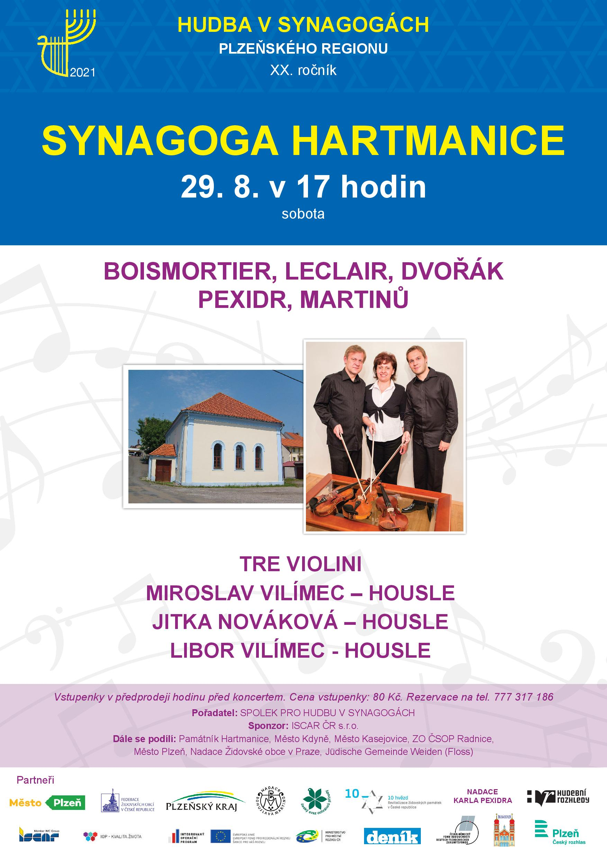 XX. ročník festivalu Hudba v synagogách Plzeňského kraje