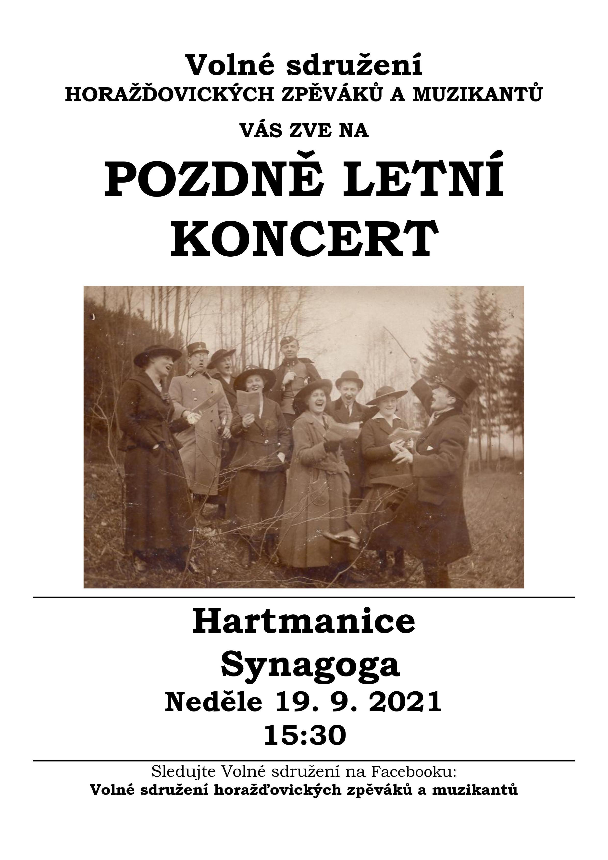 VOLNE SDRUZENI_Hartm_plakát2021